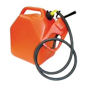 Bilde av Plast 25 liters manuell pumpe jerrykanne